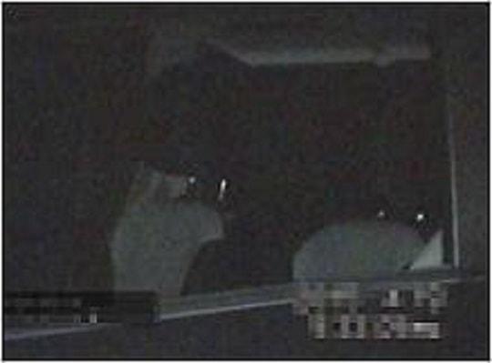 千葉県のラブ探偵事務所夜間暗視撮影比較~駐車場④~